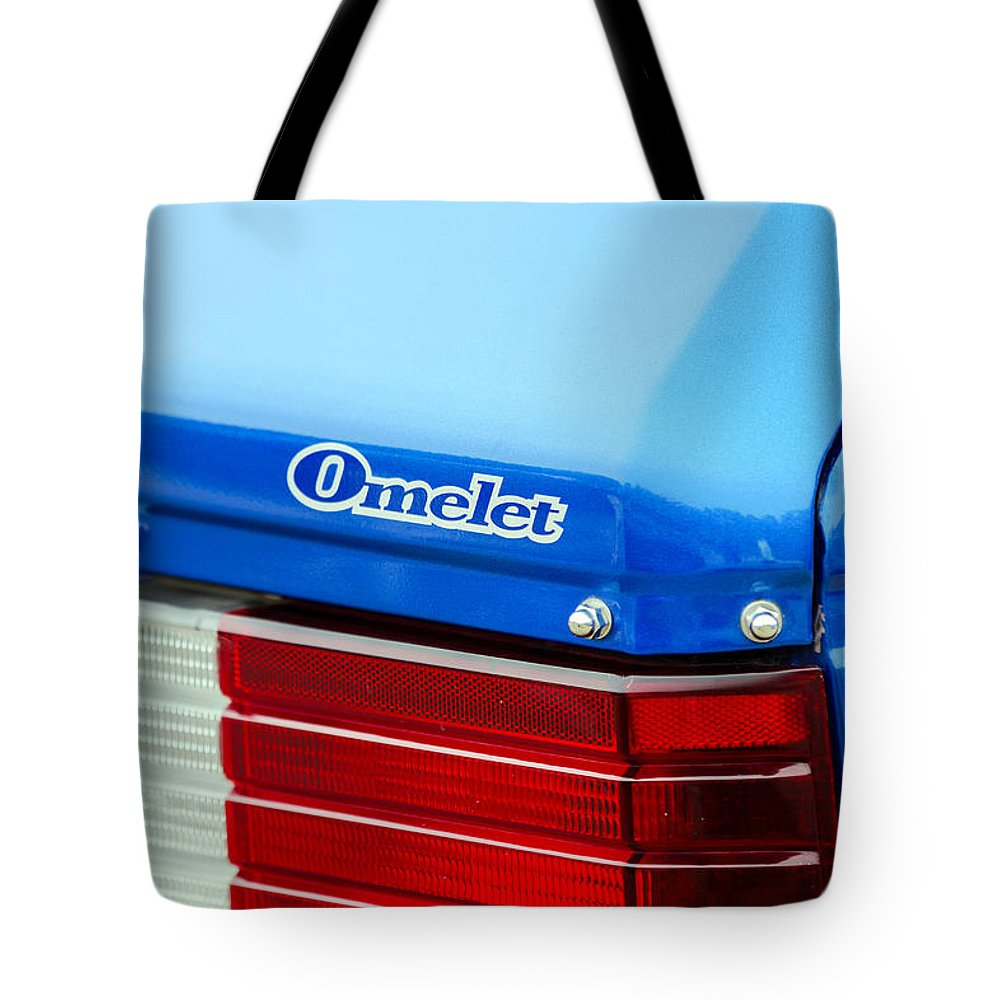 Dodge Omni Tote Bag featuring the photograph Car Show 035 by Josh Bryant