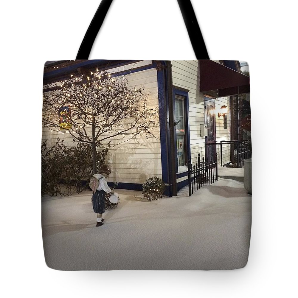 Christmas Lights Tote Bag featuring the photograph Care Of Children by Joseph Yarbrough