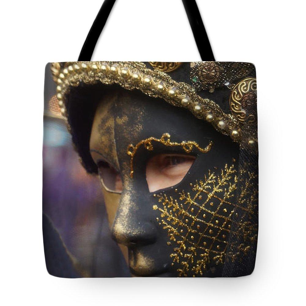 Europe Tote Bag featuring the photograph Carnevale Di Venezia 102 by Rudi Prott