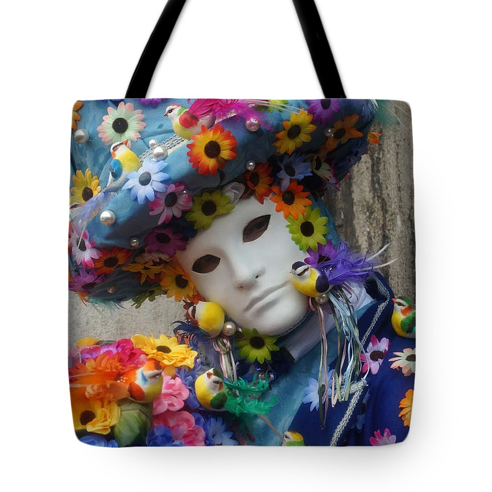 Europe Tote Bag featuring the photograph Carnevale Di Venezia 96 by Rudi Prott