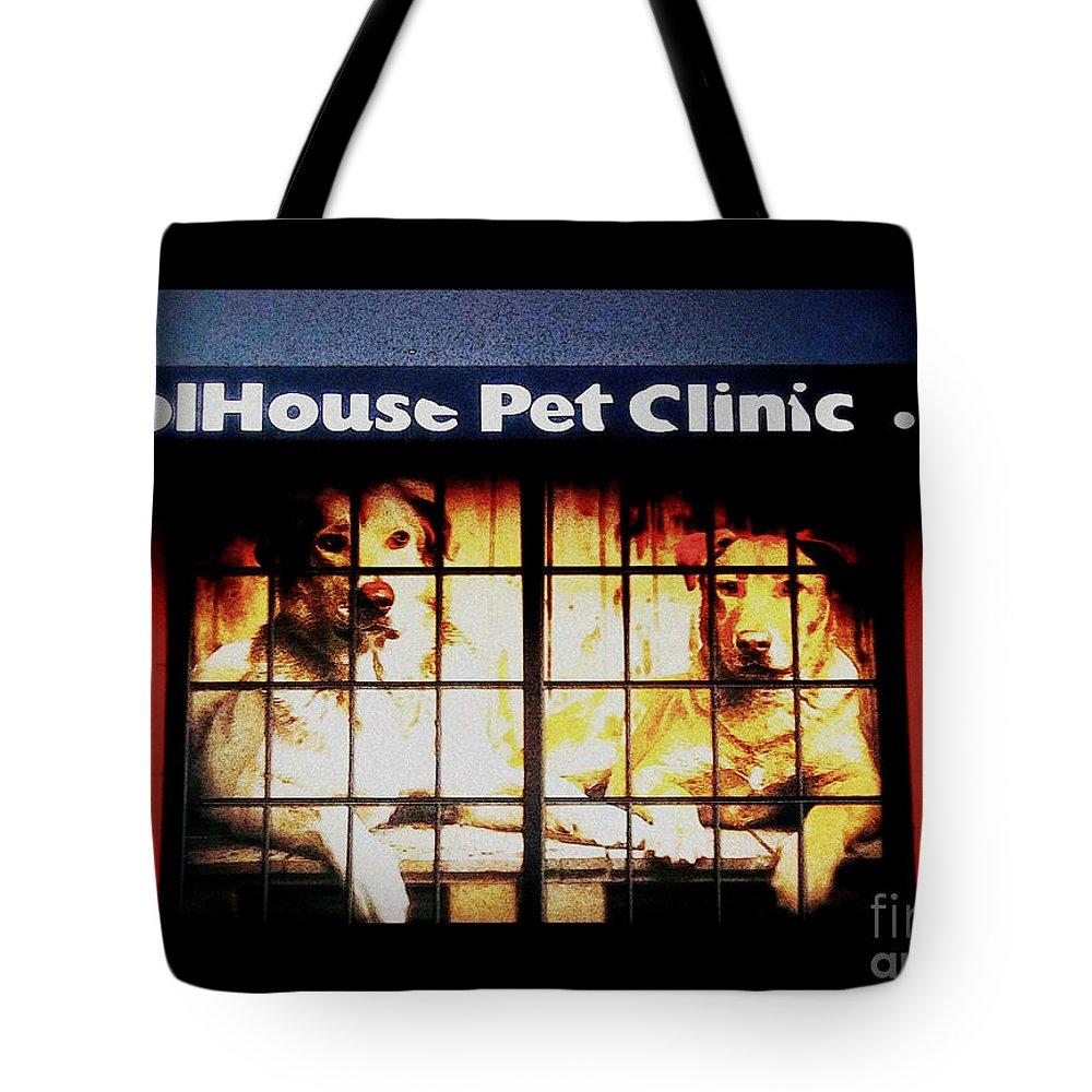 Pet Clinics Tote Bag featuring the photograph Carol House Quick Fix Pet Clinic by Kelly Awad