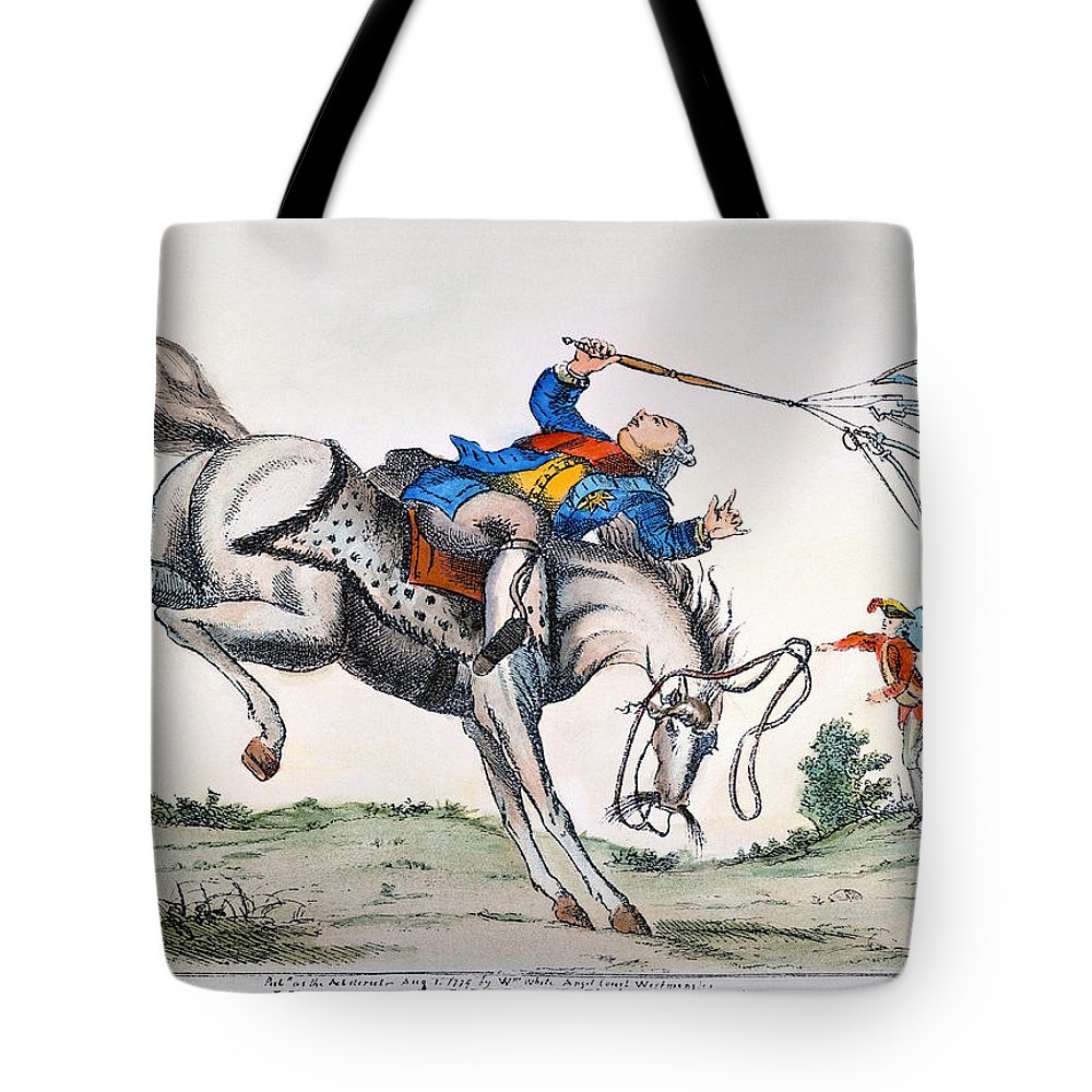 1779 Tote Bag featuring the photograph Cartoon: Outcome, 1779 by Granger