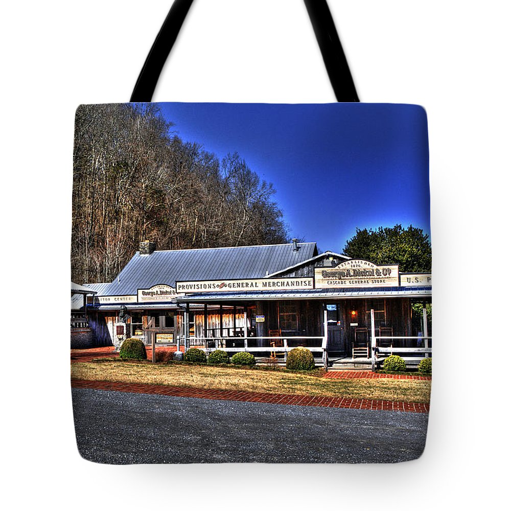 Hdr Tote Bag featuring the photograph Cascade Hollow by Paul Mashburn