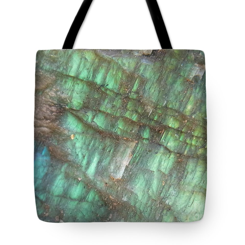 Nature Tote Bag featuring the photograph Cascade Of Green by Agnieszka Ledwon