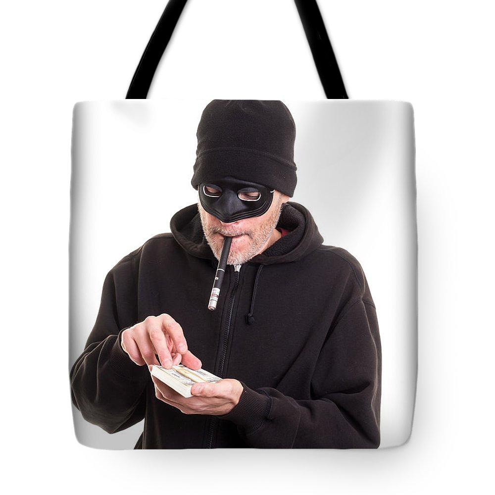 Cash Tote Bag featuring the photograph Cash Card by Edward Fielding