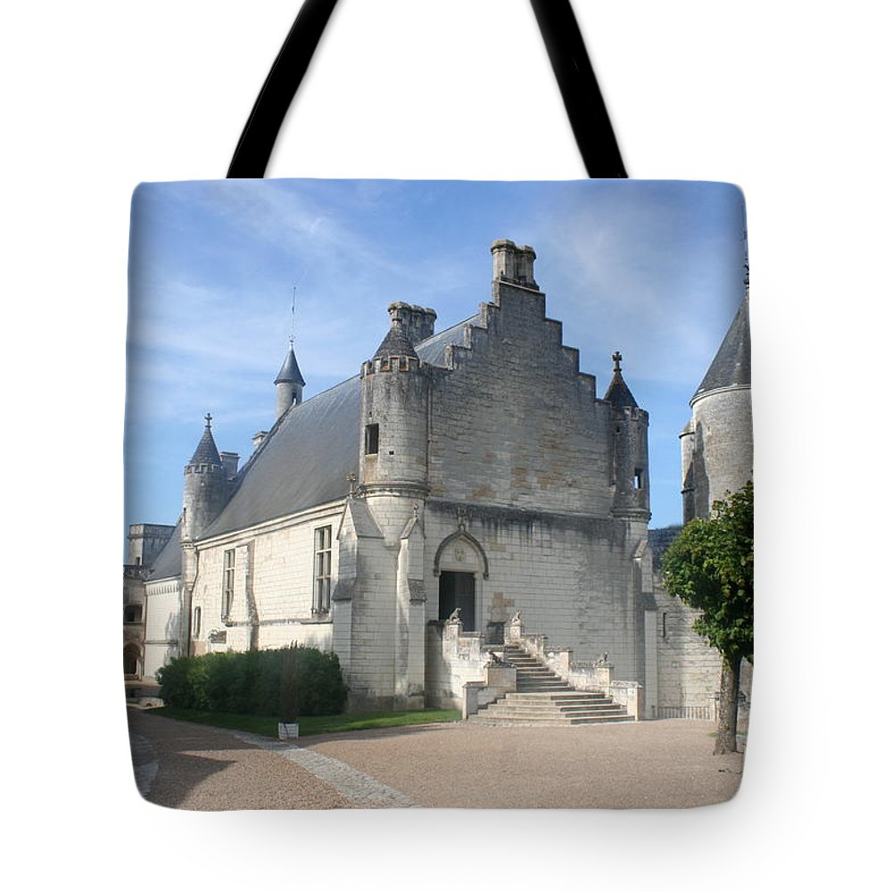 Castle Tote Bag featuring the photograph Castle Loches - France by Christiane Schulze Art And Photography