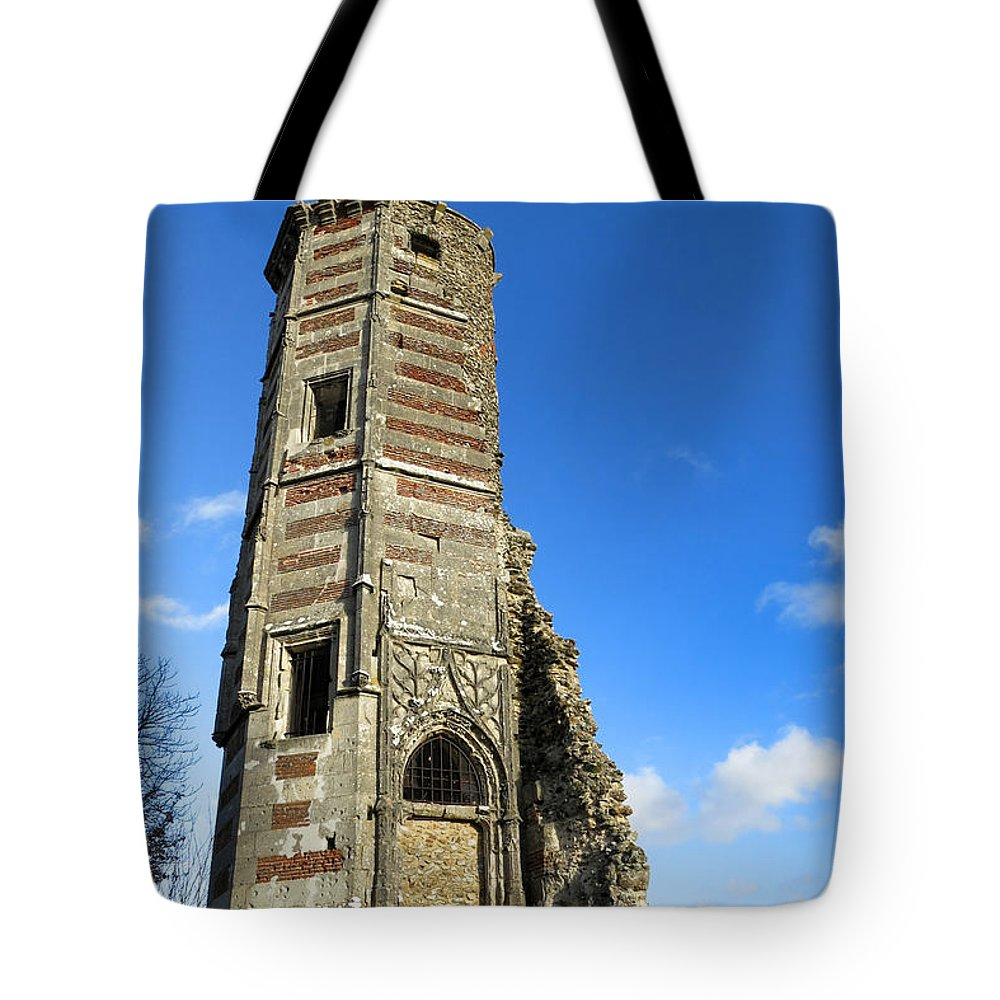 Tote Bag featuring the photograph Castle by Olivier Le Queinec
