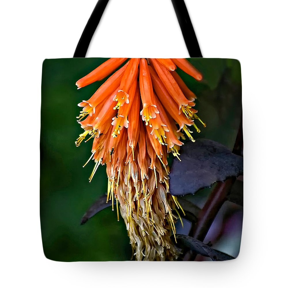 Flower Tote Bag featuring the photograph Casual Attire by Steve Harrington