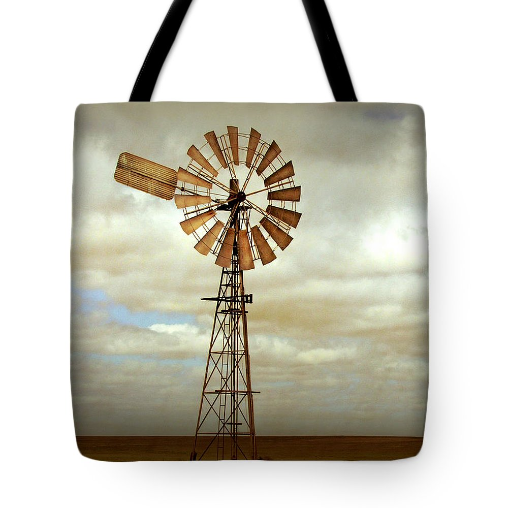 Windmill Tote Bag featuring the photograph Catch the Wind by Holly Kempe