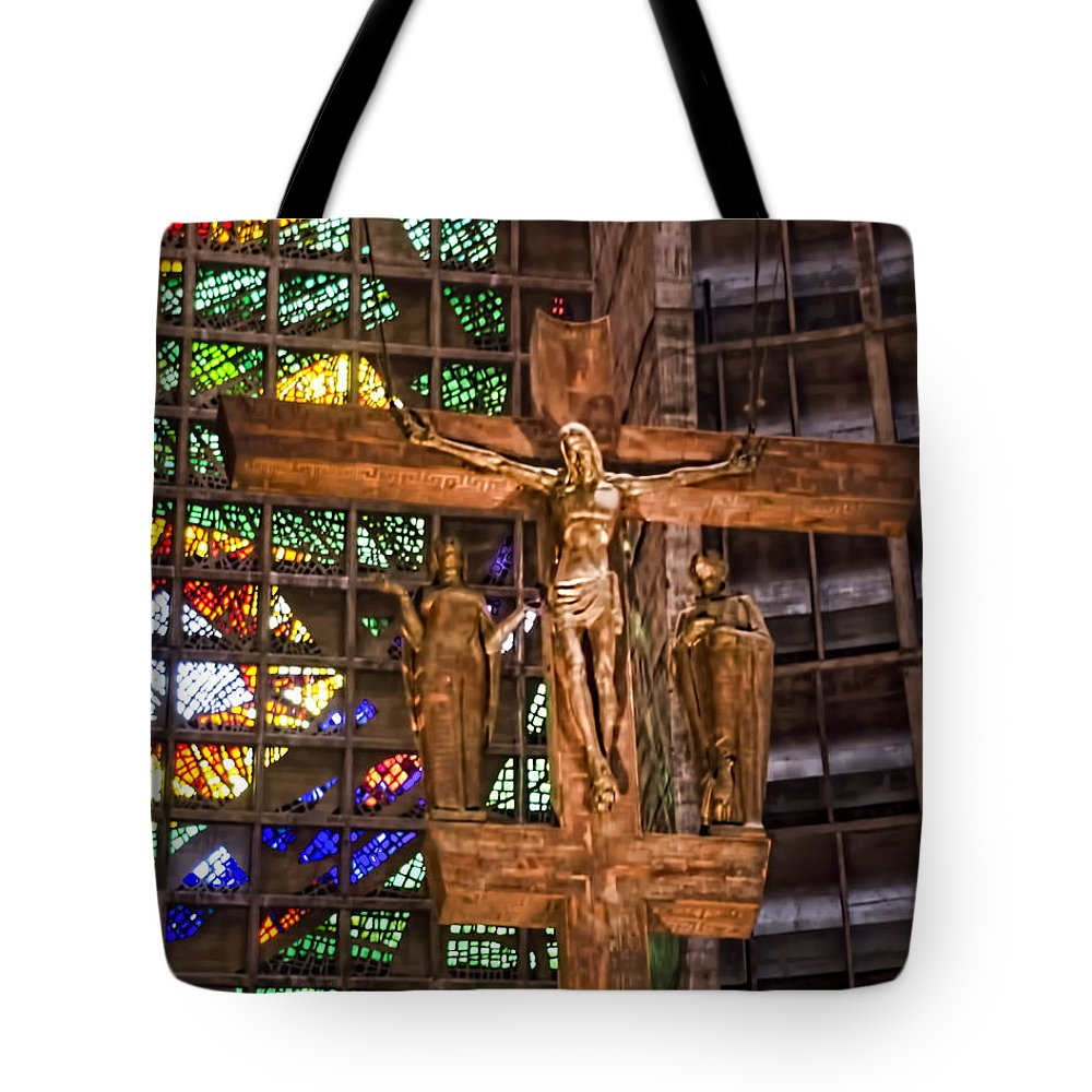 Cathedral Of Rio De Janeiro Tote Bag featuring the photograph Cathedral Of Rio De Janeiro by Jon Berghoff