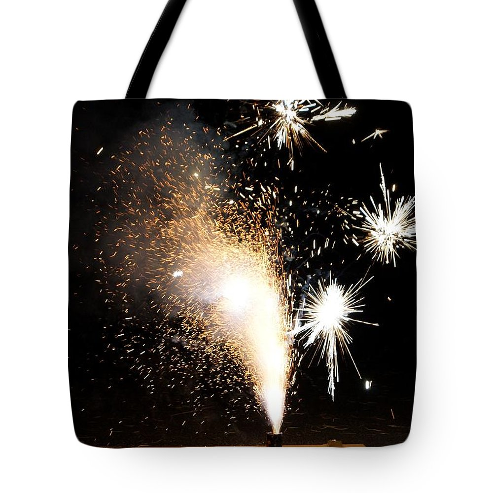 Art Tote Bag featuring the photograph Celebrate A New Year by Kerri Mortenson