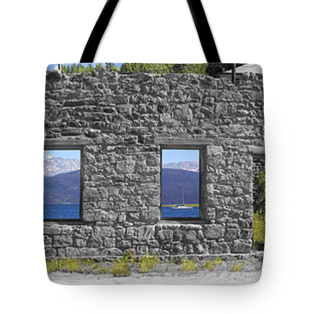 Colorado Tote Bag featuring the photograph Central City Ruins by Greg Wells