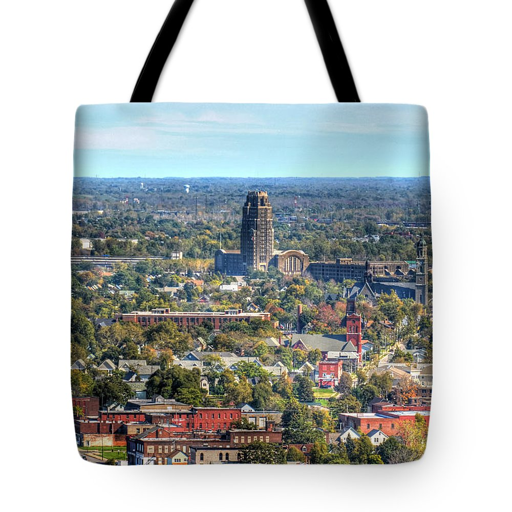 Central Terminal Tote Bag featuring the photograph Central Terminal by Michael Frank Jr