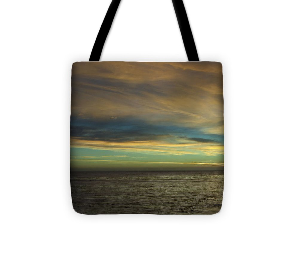 Print Tote Bag featuring the photograph cf 521 A Colorful Storm by Chris Berry