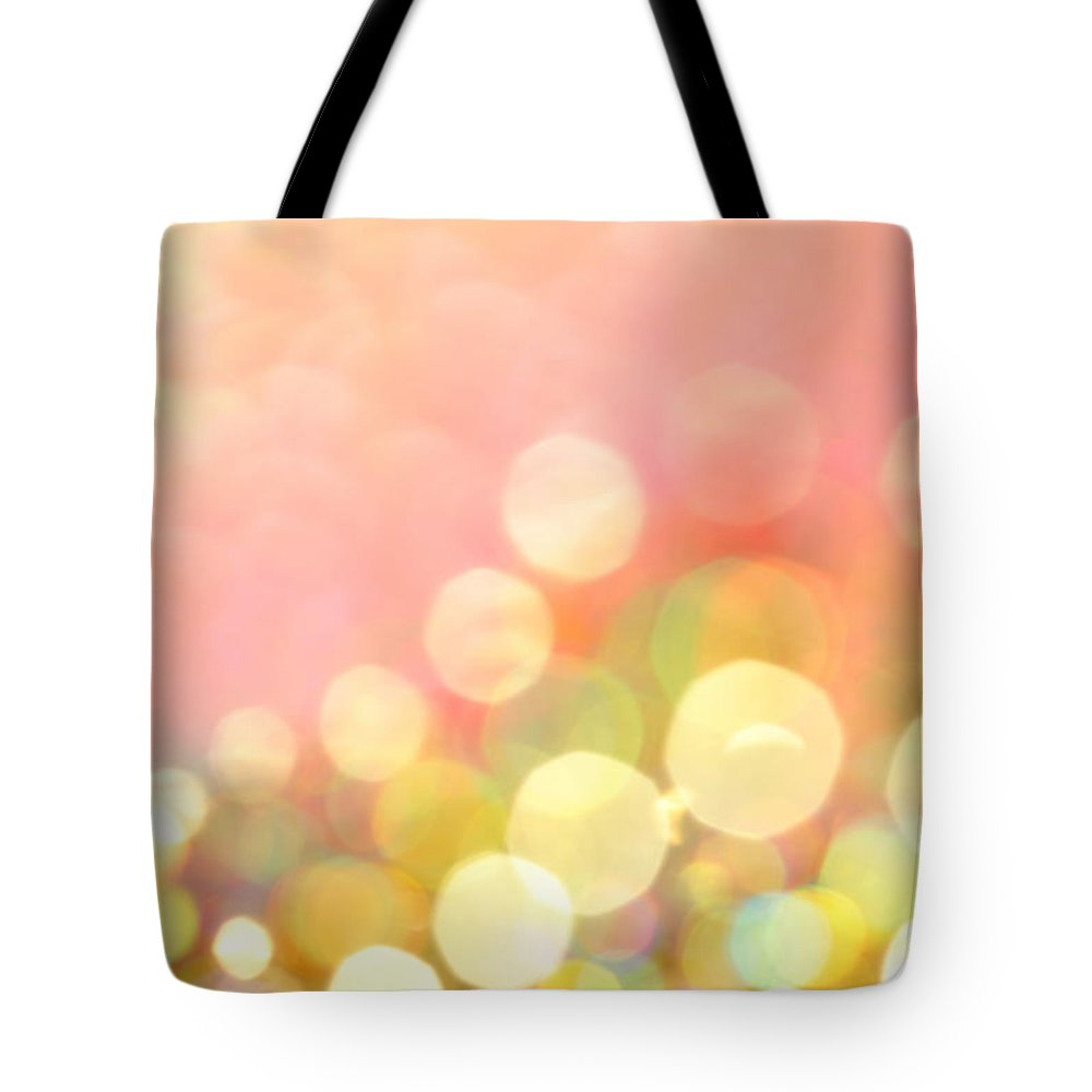 Abstract Tote Bag featuring the photograph Champagne Supernova by Dazzle Zazz