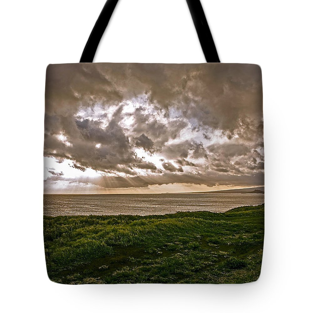 Hawaii Tote Bag featuring the photograph Changing Sky by Eric Swan