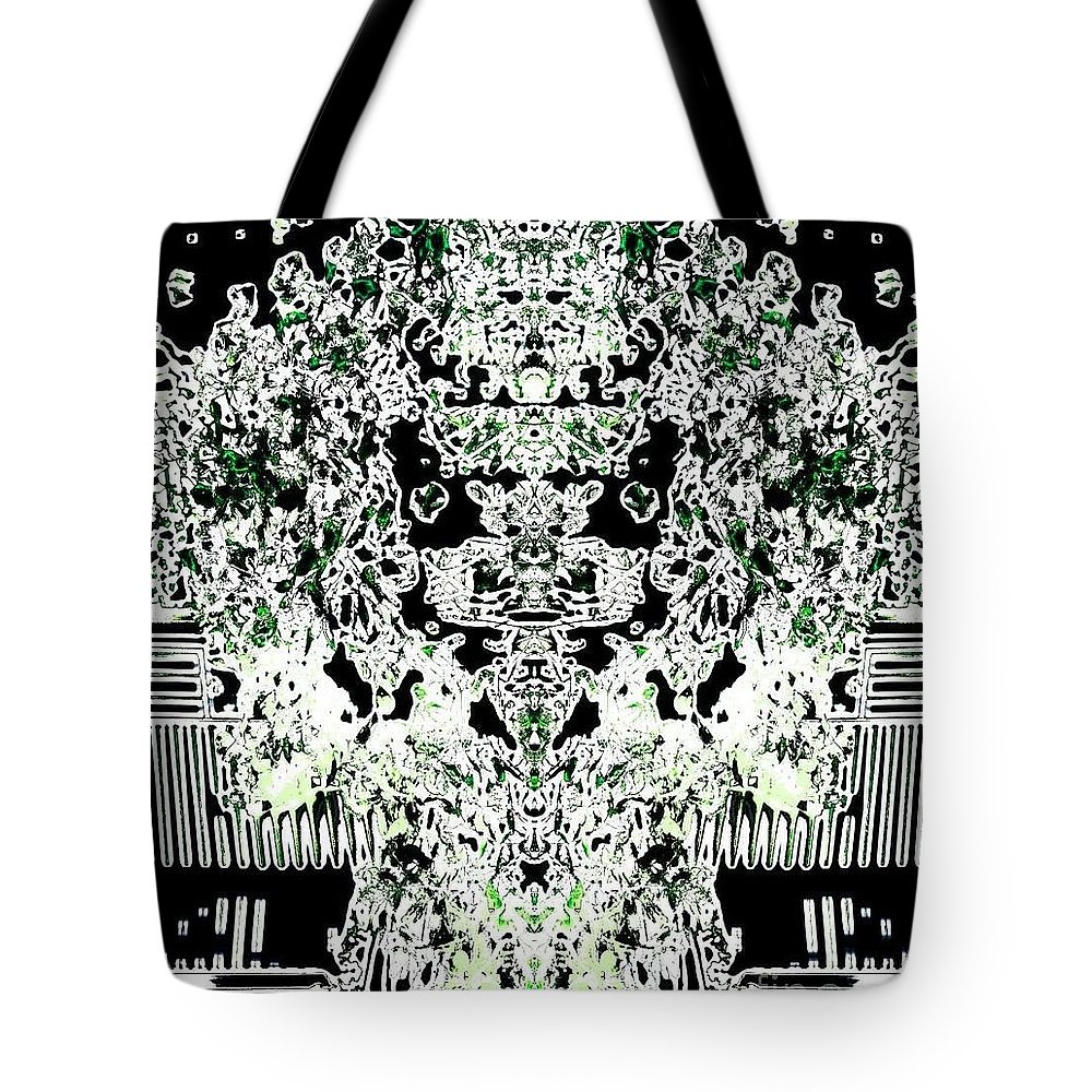 Digital Photography Tote Bag featuring the digital art Charmed by Denise Tomasura
