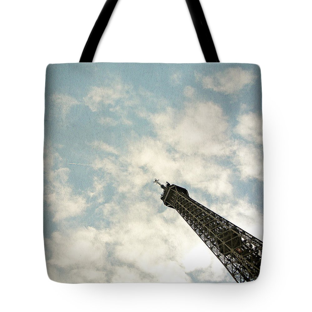 Photography Tote Bag featuring the photograph Chasing The Dream Paris Eiffel Tower by Ivy Ho