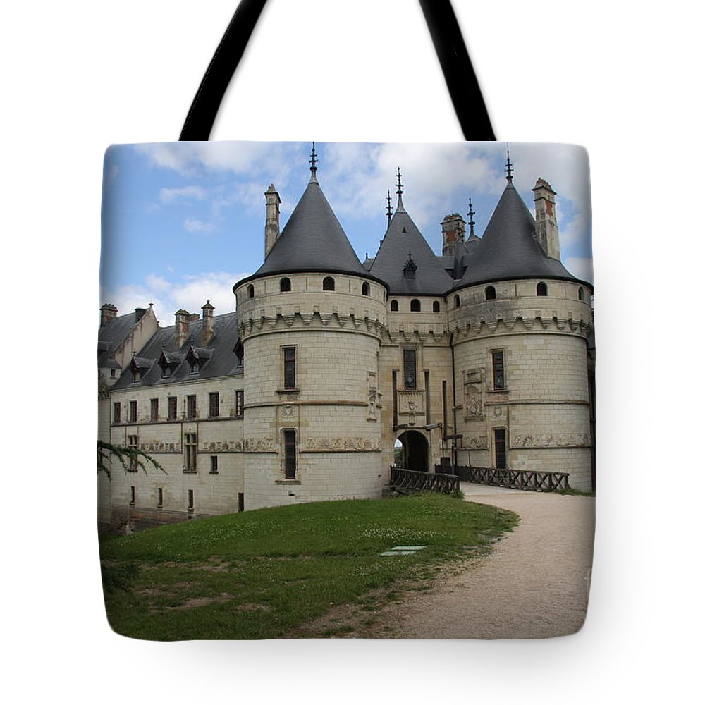 Palace Tote Bag featuring the photograph Chateau Chaumont Steeples by Christiane Schulze Art And Photography
