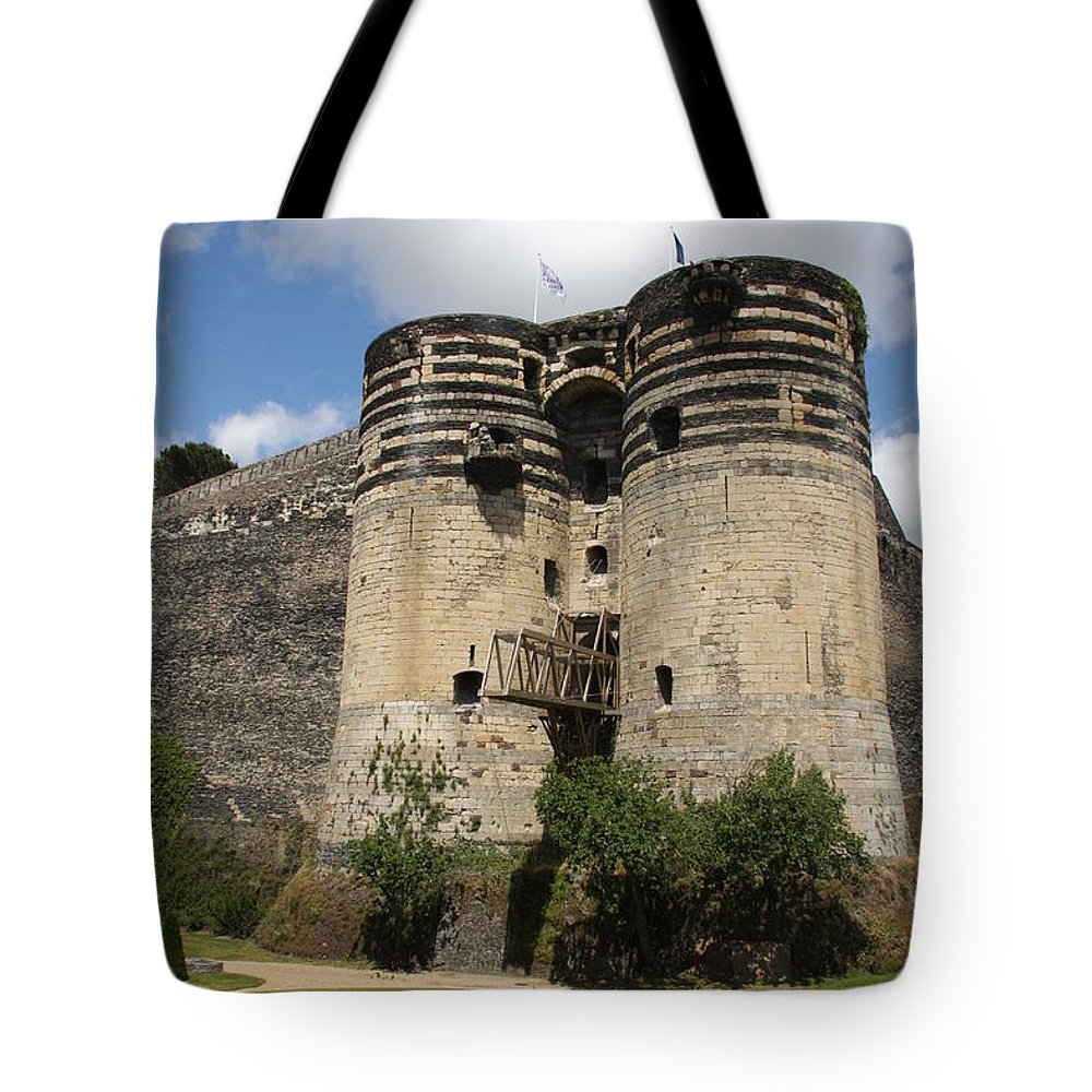 Castle Tote Bag featuring the photograph Chateau D'angers - France by Christiane Schulze Art And Photography