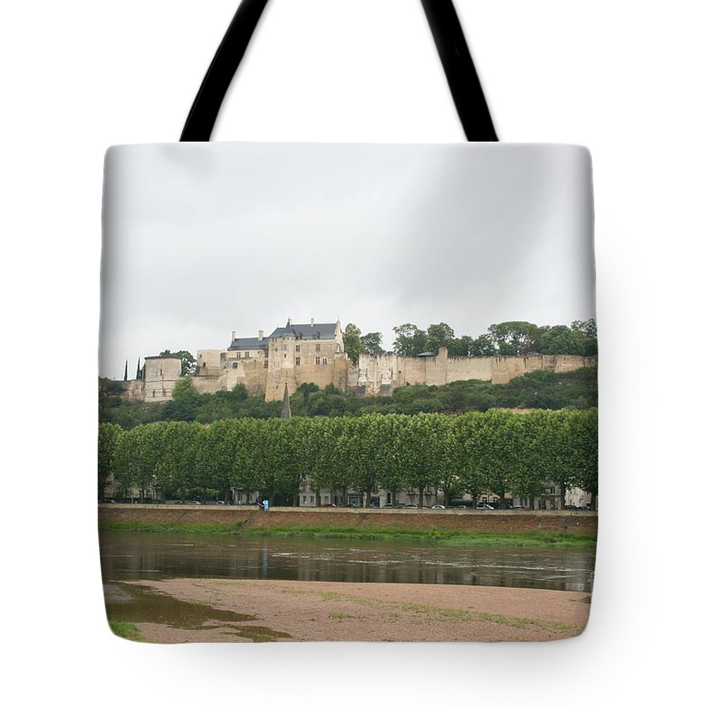 Castle Tote Bag featuring the photograph Chateau De Chinon - France by Christiane Schulze Art And Photography
