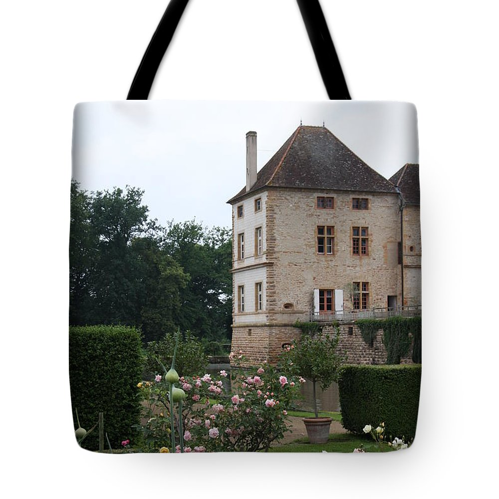 Palace Tote Bag featuring the photograph Chateau De Cormatin - Burgundy by Christiane Schulze Art And Photography