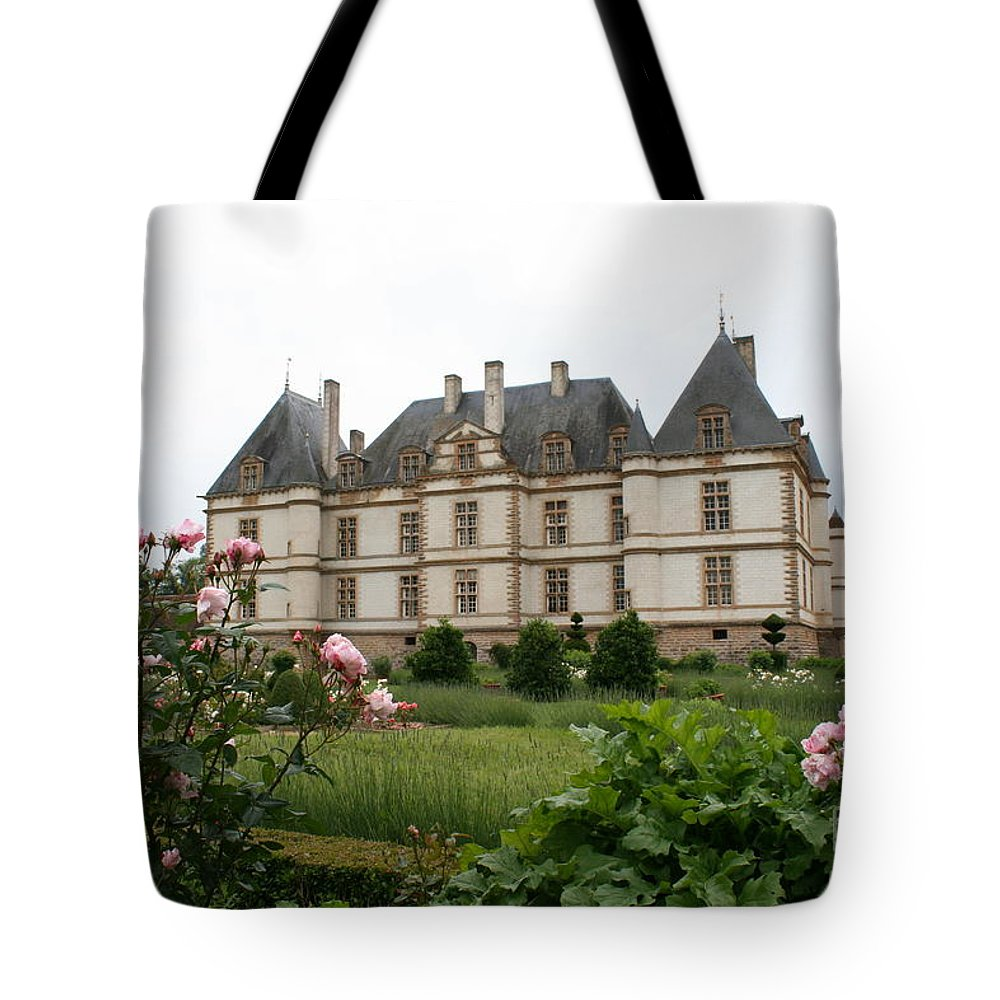 Palace Tote Bag featuring the photograph Chateau De Cormatin Garden by Christiane Schulze Art And Photography