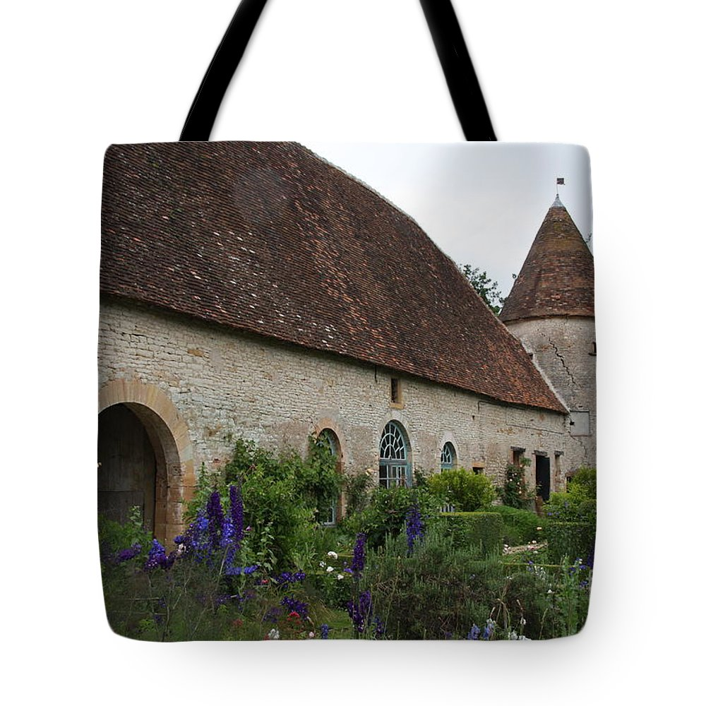 Palace Tote Bag featuring the photograph Chateau De Cormatin Kitchen Garden - Burgundy by Christiane Schulze Art And Photography