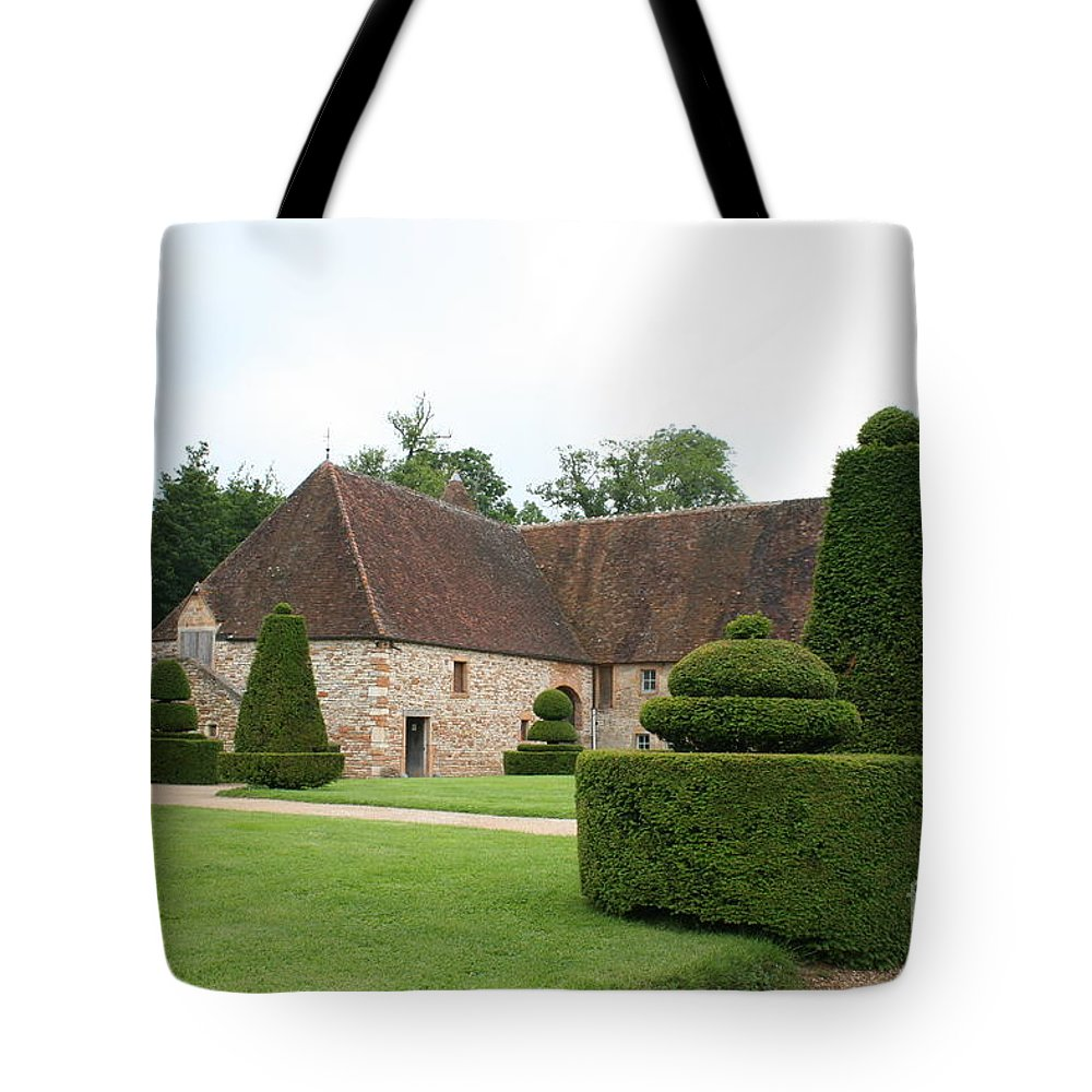 Stable Tote Bag featuring the photograph Chateau De Cormatin Stable by Christiane Schulze Art And Photography