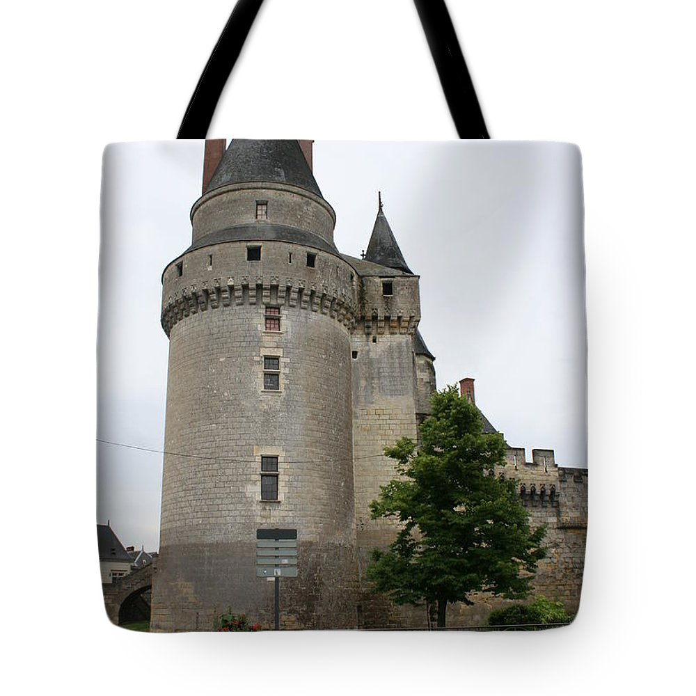 Castle Tote Bag featuring the photograph Chateau De Langeais Tower by Christiane Schulze Art And Photography