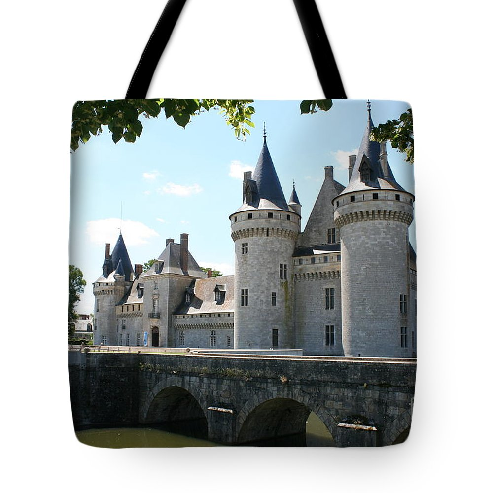 Castle Tote Bag featuring the photograph Chateau De Sully-sur-loire by Christiane Schulze Art And Photography