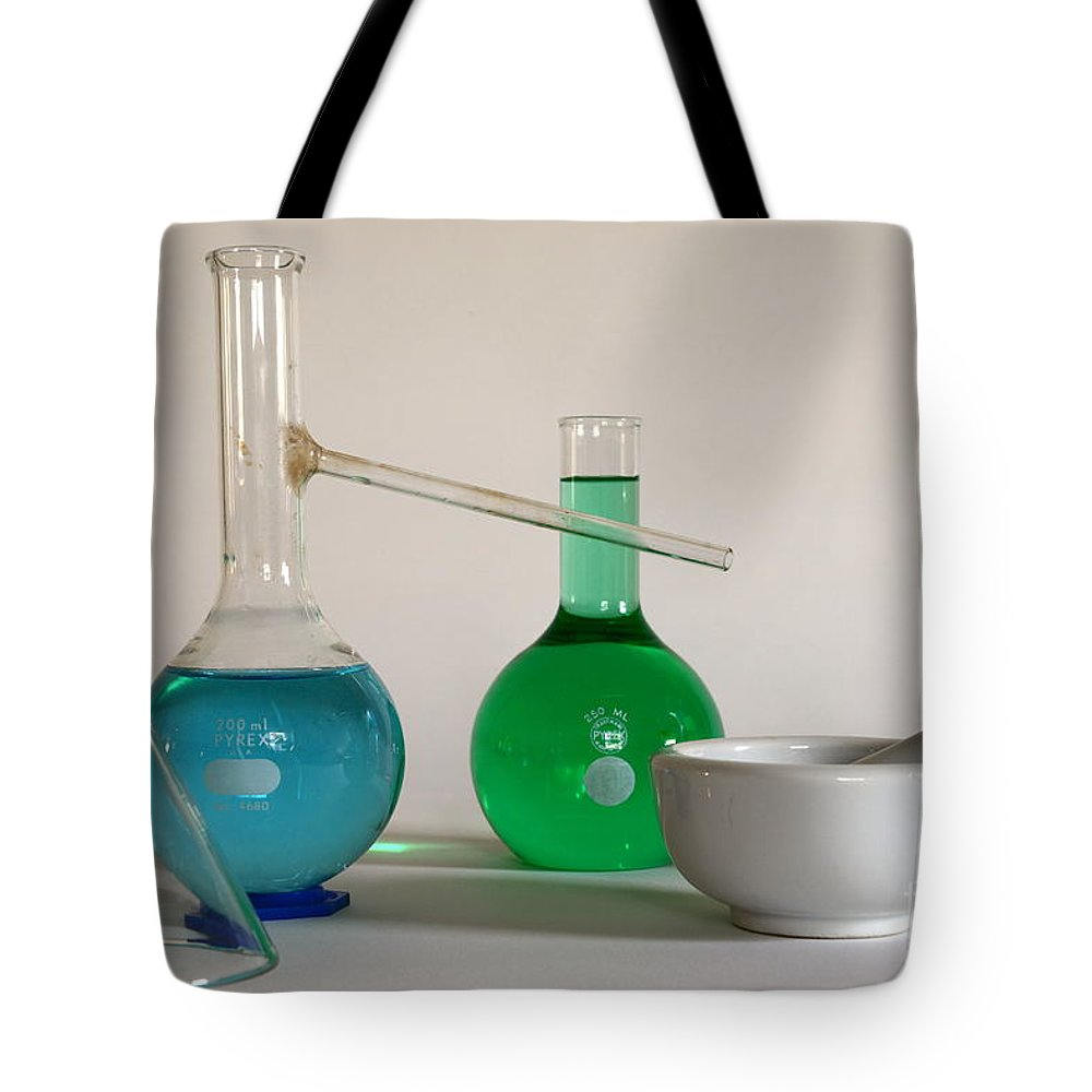 Paul Ward Tote Bag featuring the photograph Chemistry Class by Paul Ward