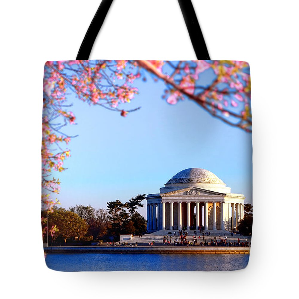 Jefferson Tote Bag featuring the photograph Cherry Jefferson by Olivier Le Queinec