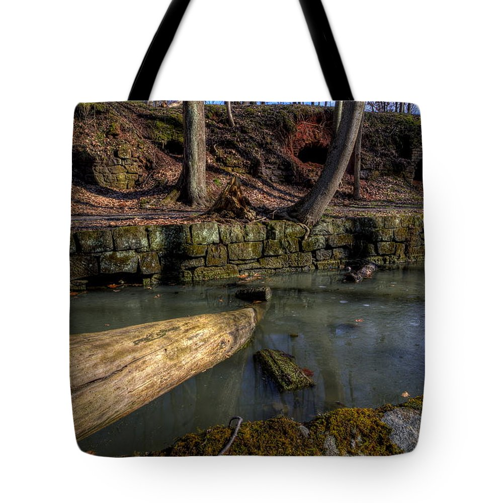 Coke Ovens Tote Bag featuring the photograph Cherry Valley Coke Ovens by David Dufresne