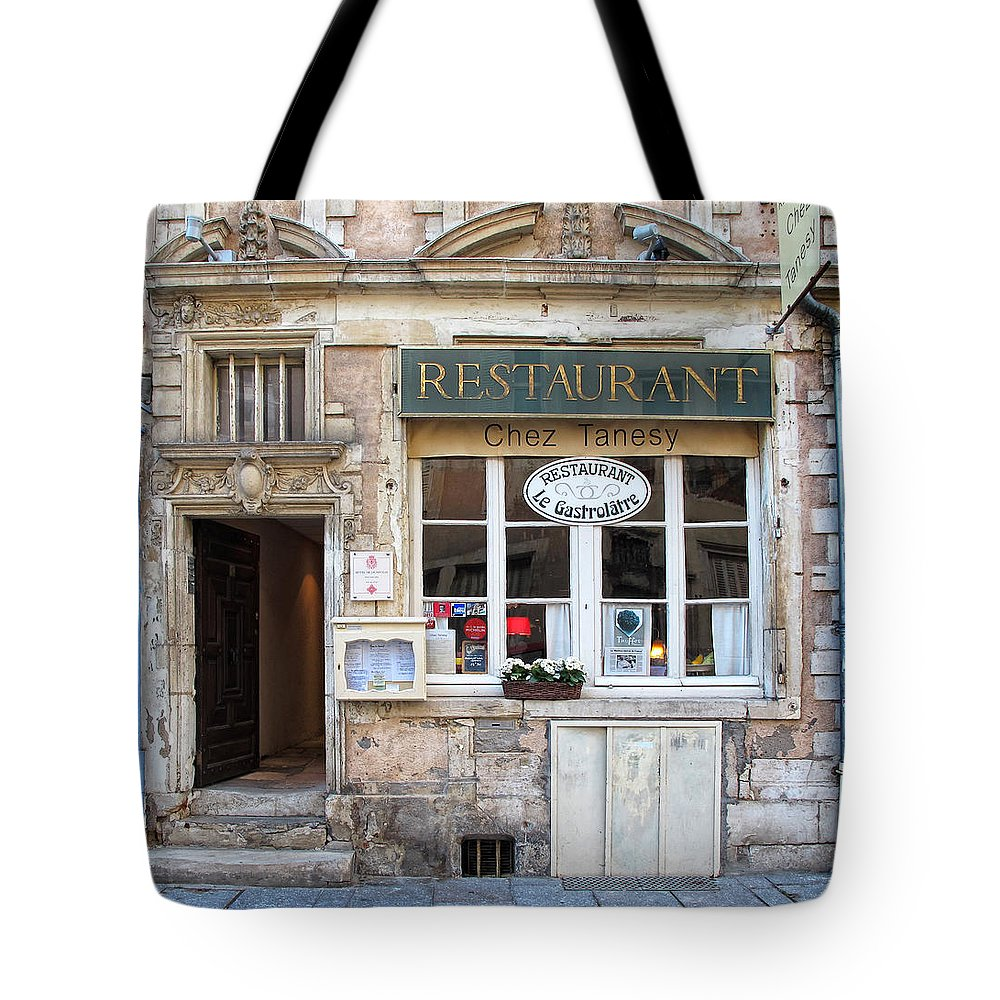 Chez Tanesy Tote Bag featuring the photograph Chez Tanesy by Dave Mills