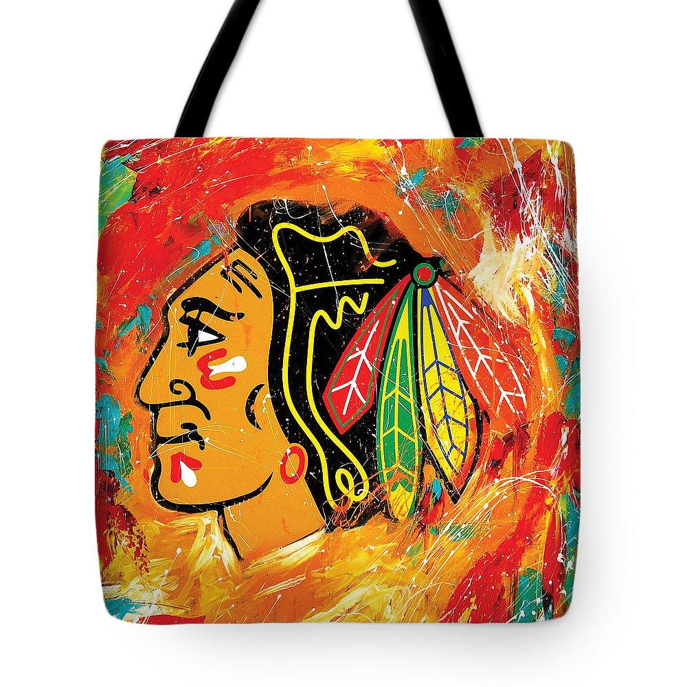 Hockey Tote Bags