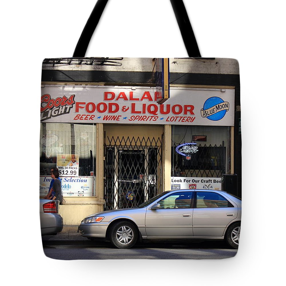 America Tote Bag featuring the photograph Chicago Storefront 3 by Frank Romeo