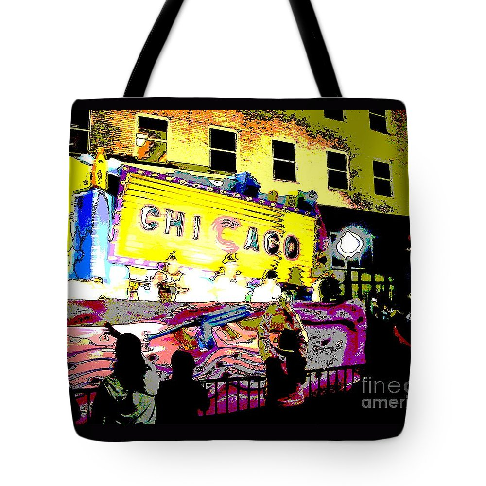 Chicago Tote Bag featuring the photograph Chicago by Marian Bell