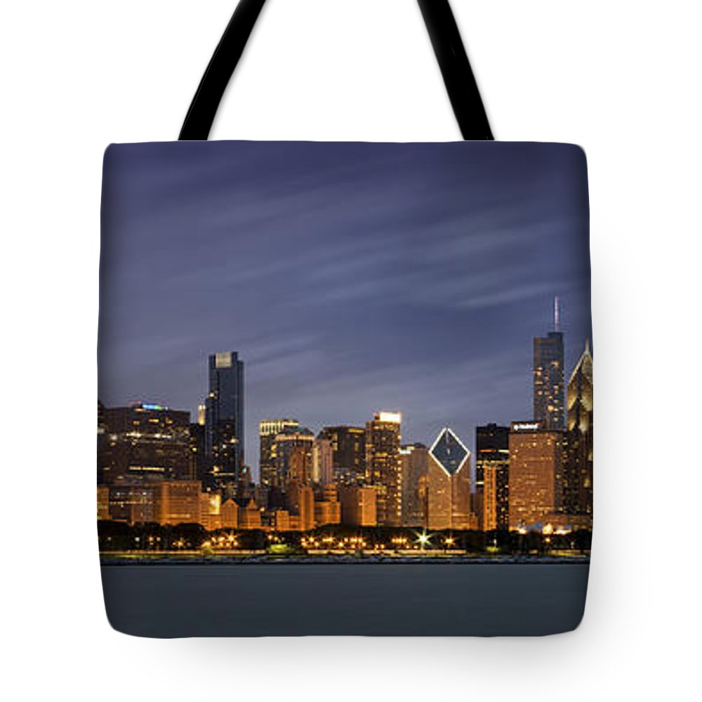 Lake Michigan Tote Bags