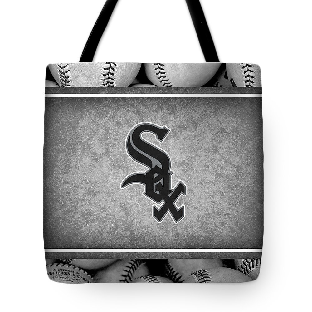 White Sox Tote Bag featuring the photograph Chicago White Sox by Joe Hamilton