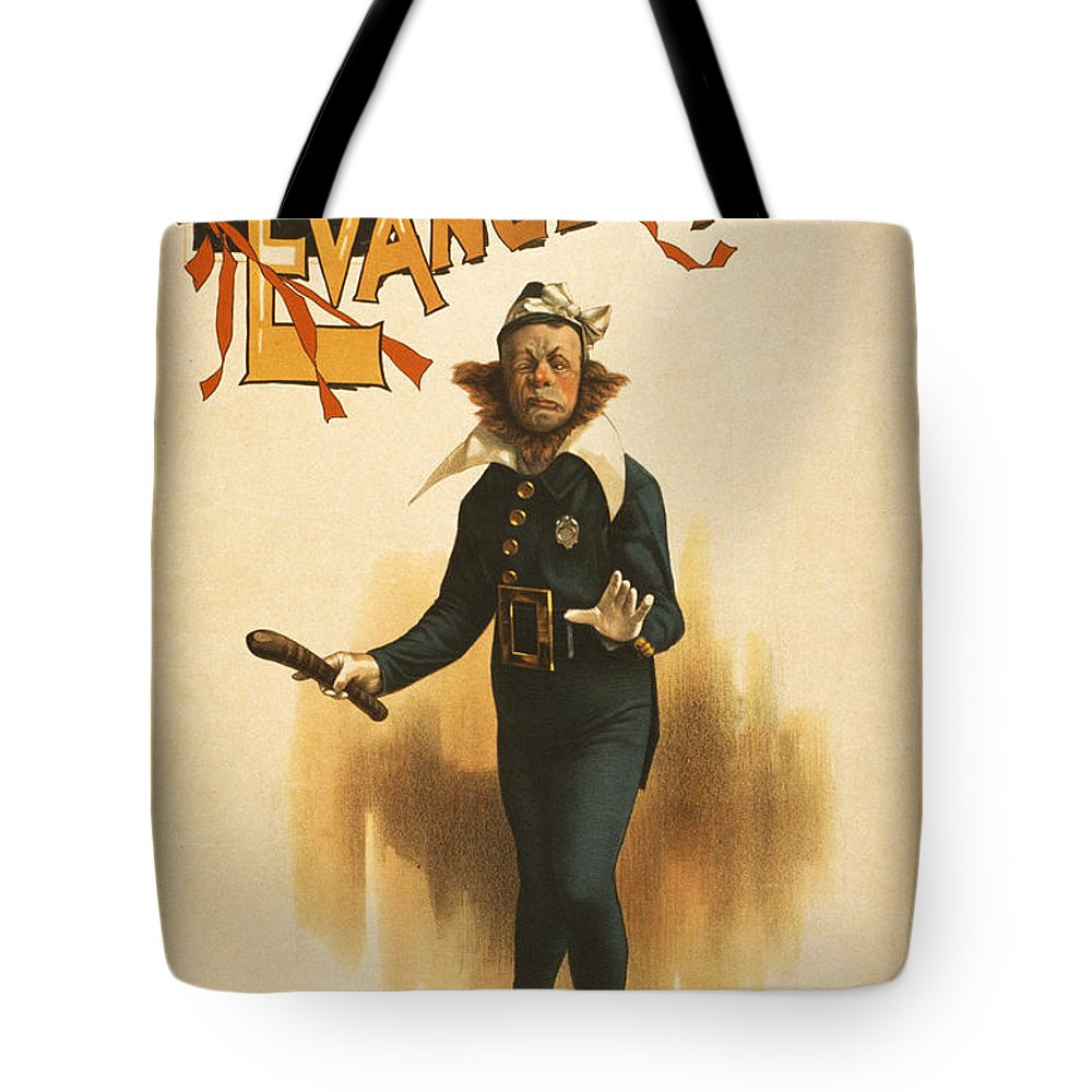 Entertainment Tote Bag featuring the drawing Chief Of Police by Aged Pixel