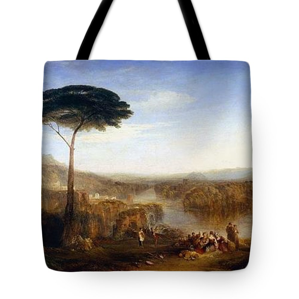 1832 Tote Bag featuring the painting Childe Harold's Pilgrimage by JMW Turner