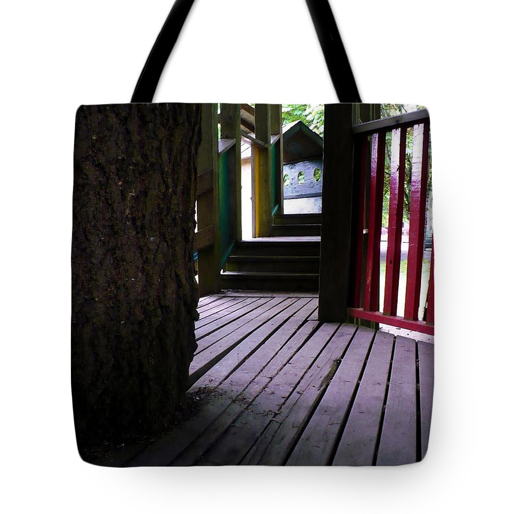 Fort Tote Bag featuring the photograph Child's Play by Nicki Bennett