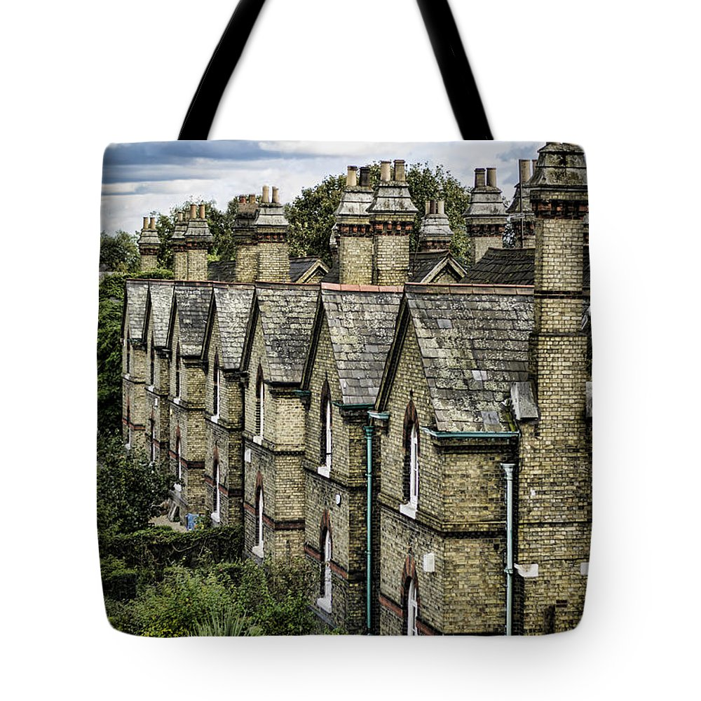 Chimney Tote Bag featuring the photograph Chimney Tops by Heather Applegate