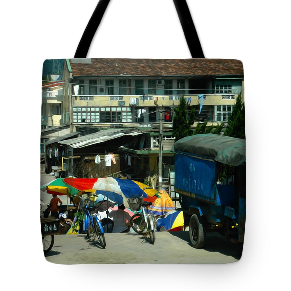 China Tote Bag featuring the photograph Chinese Experience by Tracy Winter
