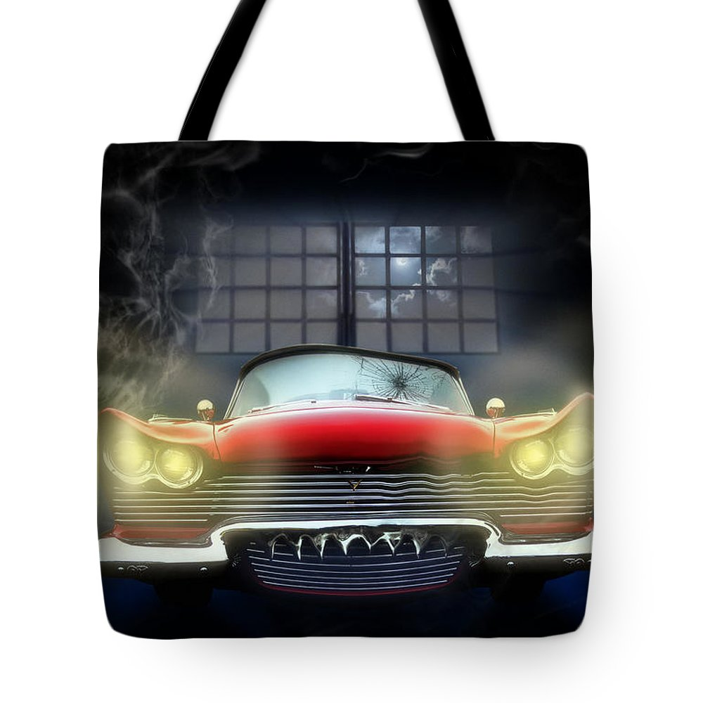 Christine Tote Bag featuring the digital art Christine by Alessandro Della Pietra