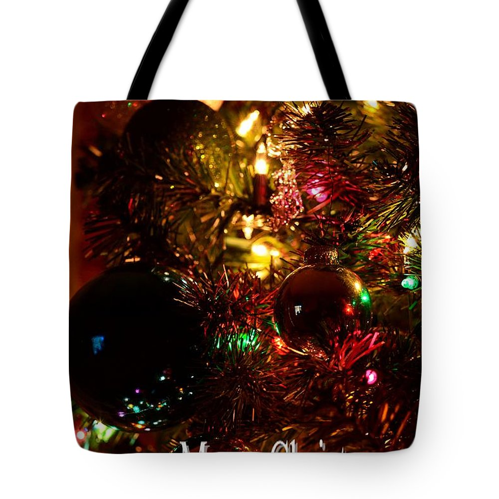 Christmas Card 2 Tote Bag featuring the photograph Christmas Card 2 by Maria Urso
