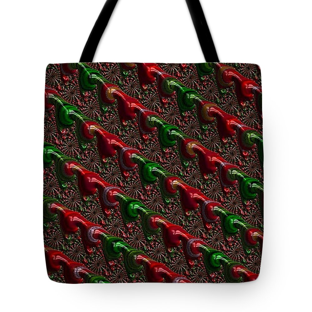 Christmas Cards Tote Bag featuring the photograph Christmas Cards And Phone Cases by Bill Owen