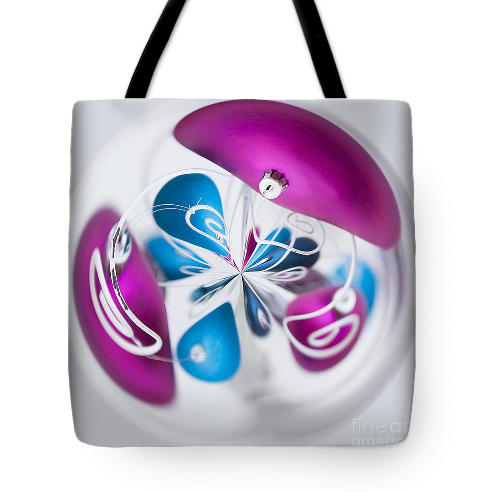Anne Tote Bag featuring the photograph Christmas Chaos by Anne Gilbert