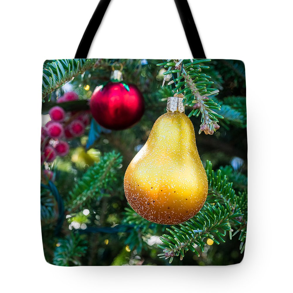 Christmas Tote Bag featuring the photograph Christmas Decoration by David Kay